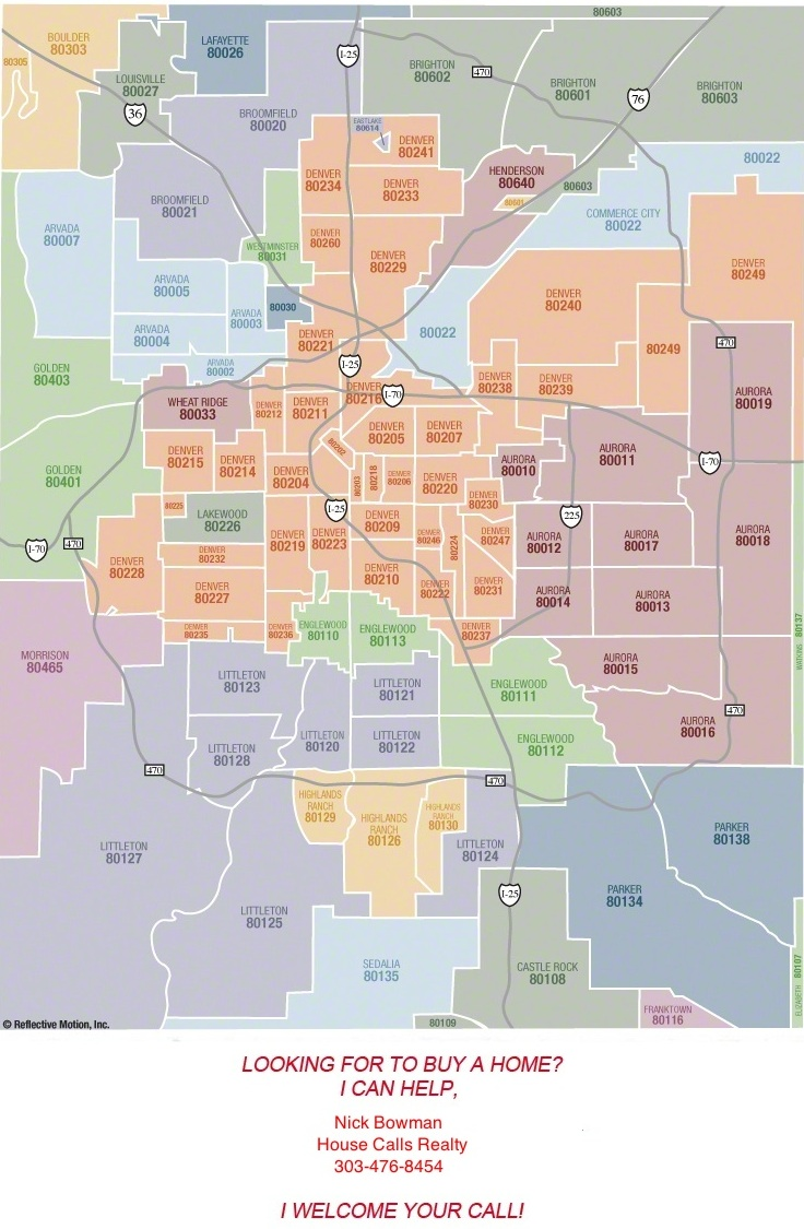 Denver And Colorado Maps Littleton Listing Agent Sell