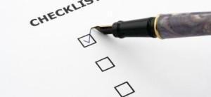 Condo Checklist